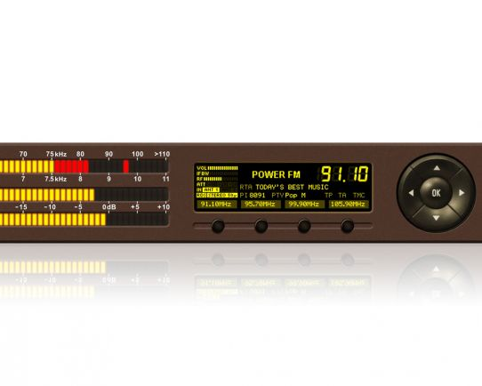 DB4004 FM Monitoring Receiver and Radio Modulation Monitor, DEVA Broadcast