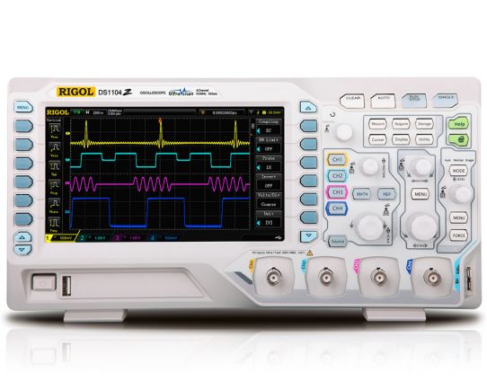 DS1054Z Osciloscopio digital 50MHz, 1GSa/s, Rigol