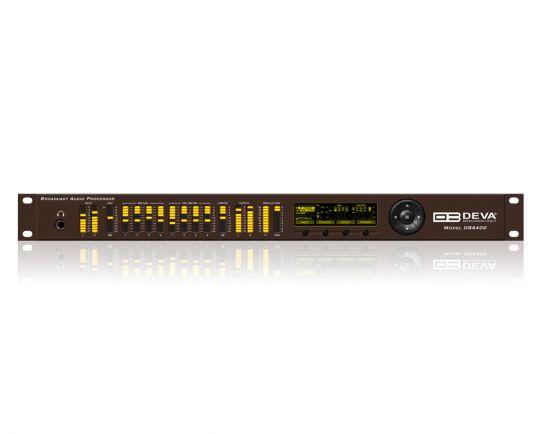 DB6400 4-Band Audio Processor, DEVA Broadcast