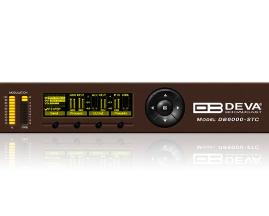 DB6000-STC Advanced Stereo and RDS Generator, DEVA Broadcast
