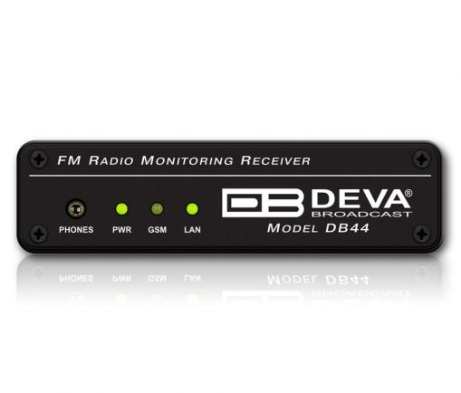 DB44 Compact FM Radio Monitoring Receiver, DEVA Broadcast