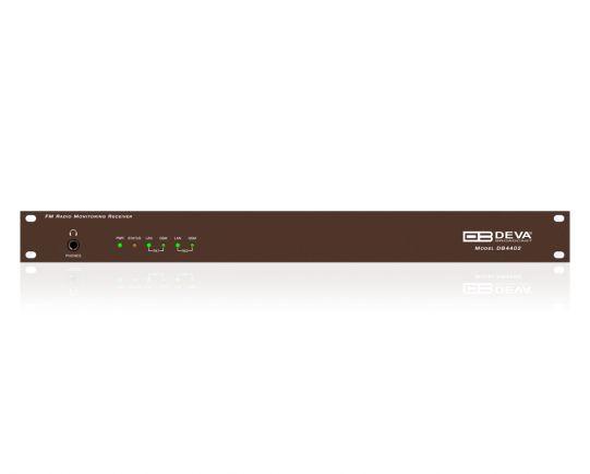 DB4402 Dual FM Monitoring Receiver & Radio Streamer