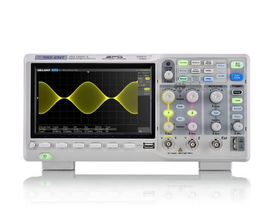 SDS1202X-E Цифров Осцилоскоп 200MHz, 1GSa/s, Siglent
