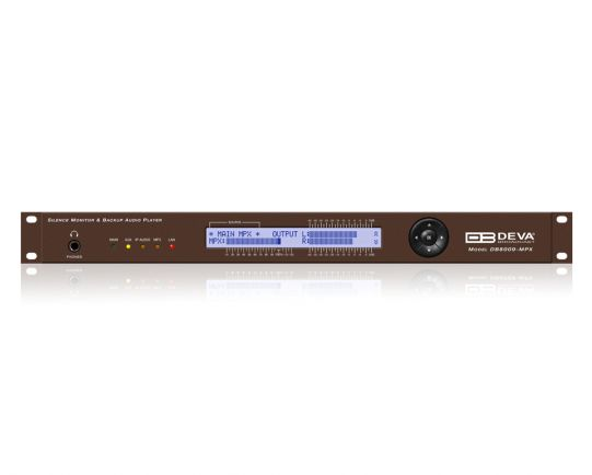 DB8009-MPX – Silence Monitor & Backup Player, DEVA Broadcast