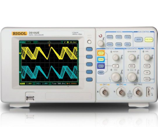Digital Oscilloscope 50MHz, 1GSa/s, Rigol DS1052E