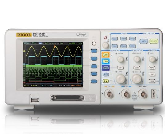 Digital Oscilloscope 50MHz, 1GSa/s, Rigol DS1052D