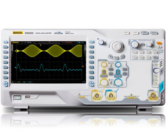 DS4022 Digital Oscilloscope 200MHz, 4GSa/s, Rigol