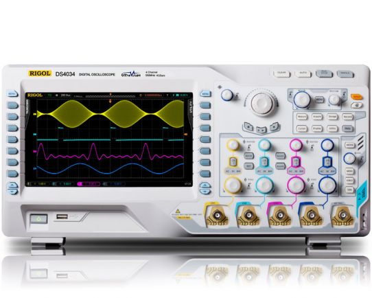 DS4034 Digital Oscilloscope 350MHz, 4GSa/s, Rigol