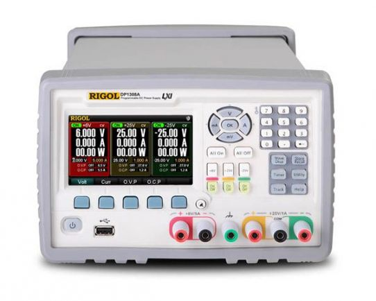 DP1308A Triple Output, 80 Watt Power Supply, Rigol