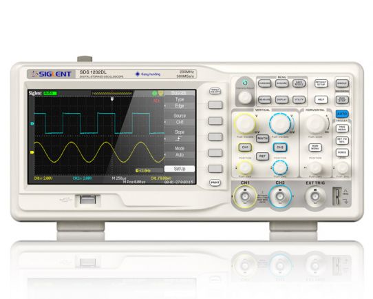 Digital Oscilloscope 50MHz, 500MSa/s, Siglent SDS1052DL+
