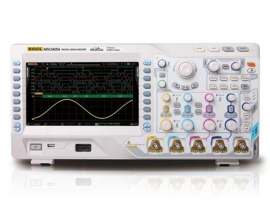 MSO4014 Osciloscopio de señales mixtas, 100MHz, 4GSa/s, Rigol