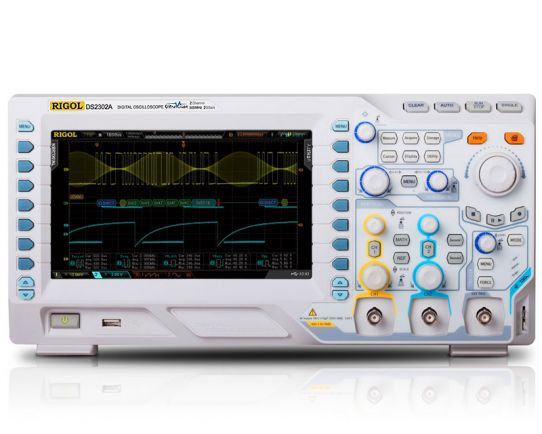 DS2072A-S Digital Oscilloscope 70MHz with WF Generator, Rigol