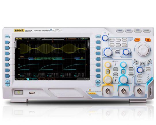 DS2202A-S Digital Oscilloscope 200MHz with WF Generator, Rigol