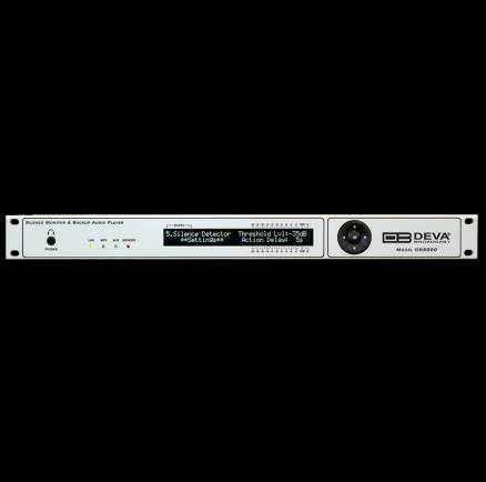DEVA DB8000 Monitor de silencio y conmutador automático entre fuentes