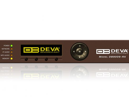 DEVA DB9009-RX Professional IP Audio Decoder