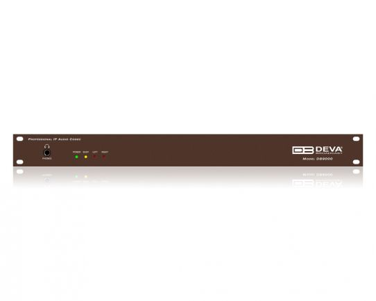 DEVA DB9000-RX Professional IP Audio Decoder with Stereo & RDS Encoder Module Option
