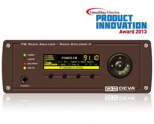 DEVA Radio Explorer II Portatil FM Radio Analizador