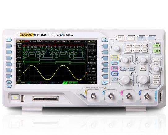 MSO1074Z Mixed Signal Oscilloscope 70MHz, 1GSa/s, Rigol