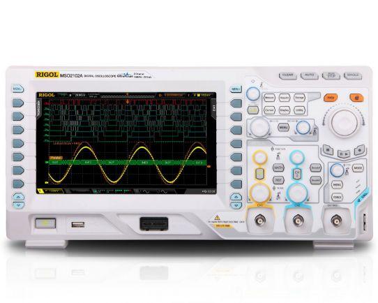 MSO2102A Osciloscopio de Señal Mixta 100MHz, 2GSa/s, Rigol