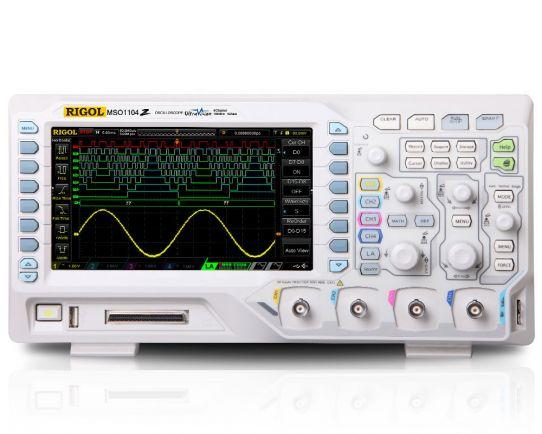 MSO1074Z-S 70MHz, 1GSa/s Mixed Signal Oscilloscope & WF Generator