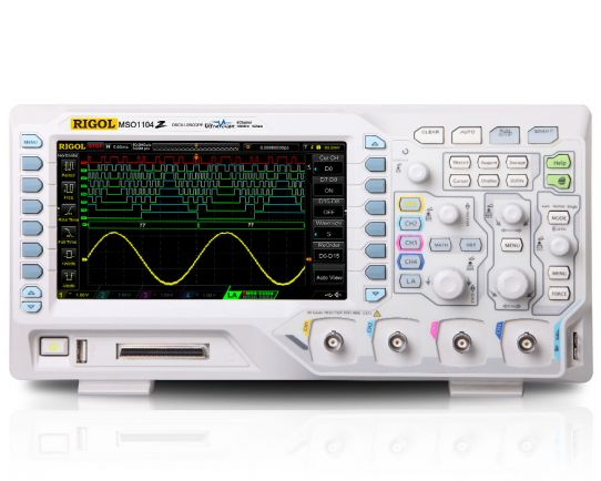 MSO1104Z  Osciloscopio de Señal Mixta 100MHz, 1GSa/s, Rigol