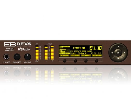 DEVA DB3011 FM/HD Radio & IP Audio Confidence Monitoring Receiver