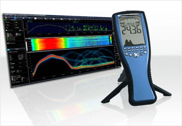 EMC/EMI Spectrum Analyzer 1Hz-1MHz/20MHz/30MHz with E&H sensor SPECTRAN NF-5030 S, Aaronia