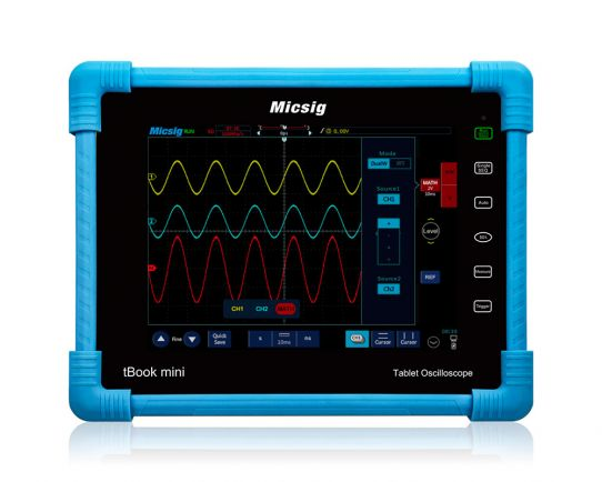 TO1072 Plus tBook mini Oscilloscope 70MHz, 1Gsa/s, Micsig