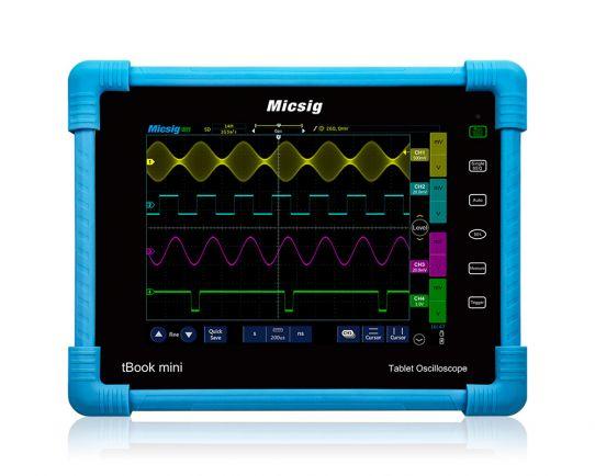 TO1074 Plus tBook mini Осцилоскоп 70MHz, 1Gsa/s, Micsig