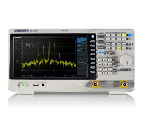 SSA3032X + TG Spectrum Analyzer 9 kHz-3.2 GHz, Siglent