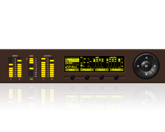 DEVA DB64-FM 4-Band Audio Processor with RDS Encoder