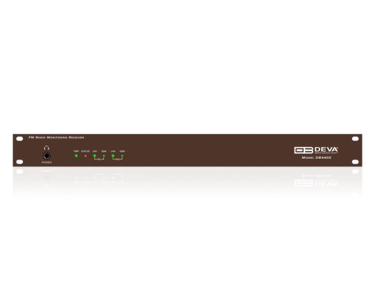 DEVA DB4402 Dual FM Monitoring Receiver & Radio Streamer