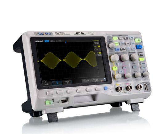 SDS1102X 100MHz, 1GSa/s + Opción de decodificación