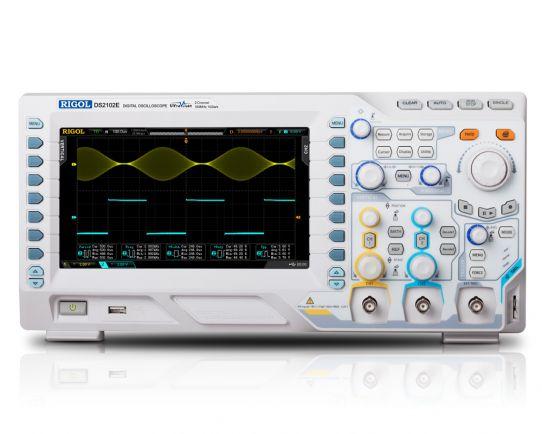 DS2102E Цифров Осцилоскоп 100MHz, 1GSa/s, Rigol