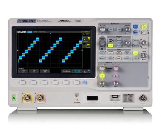SDS2302X Osciloscopio Digital 300MHz, 2GSa/s, Siglent