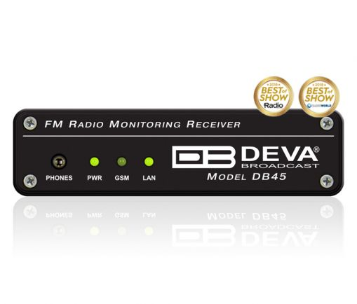 DEVA DB45 FM Radio Monitoring Receiver and Modulation Analyzer