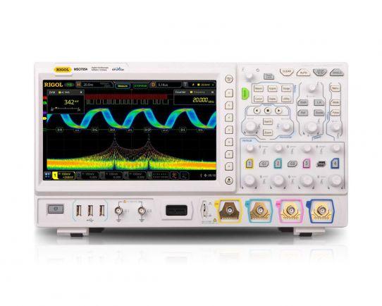 MSO7054 Osciloscopio de Señal Mixta 500MHz, 10GSa/s, Rigol