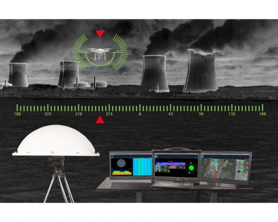 AARTOS, Real-Time RF Drone / UAV and Radar Detection System