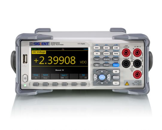 SDM3055-SC 5 ½ Digit Desktop Multimeter with Scanner Card
