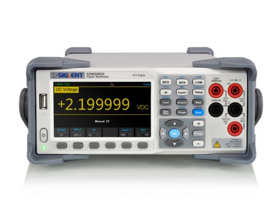 SDM3065X-SC 6 ½ Digit Desktop Multimeter with Scanner Card