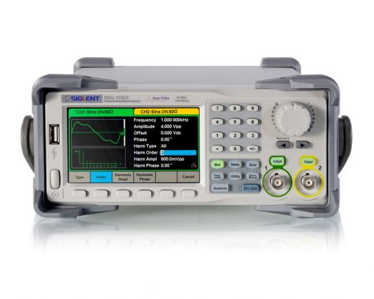 SDG1032X Generador Forma de Onda 30MHz, 2CH, Siglent
