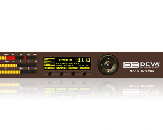 DEVA DB4005 Advanced FM Monitoring Receiver & MPX Modulation Analyzer