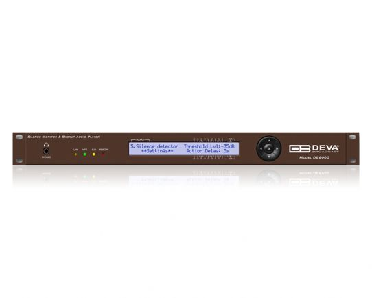 DEVA DB8000 Silence Monitor & Backup Audio Player