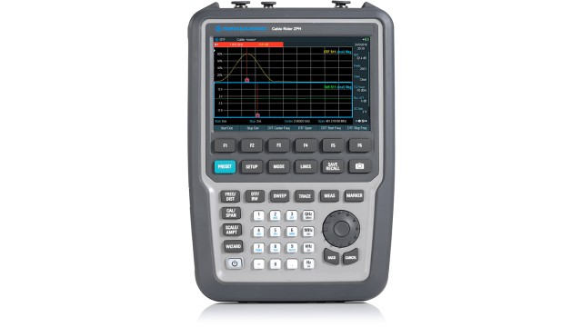Rohde & Schwarz ZPH COM1 Spectrum, Cable and Antenna Analyzer