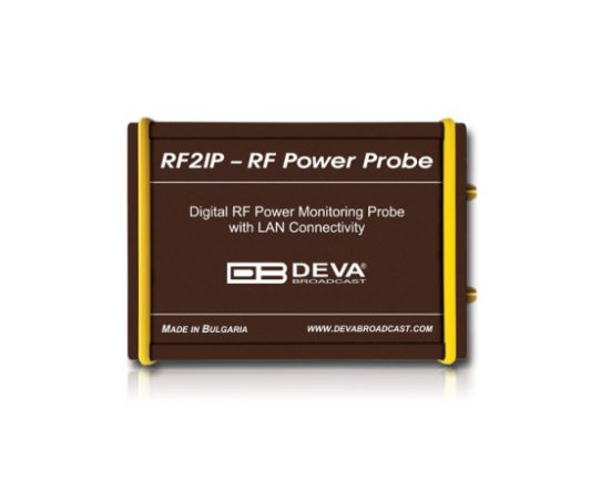 RF2IP - UHF Digital RF Power Monitoring Probe with LAN Connectivity