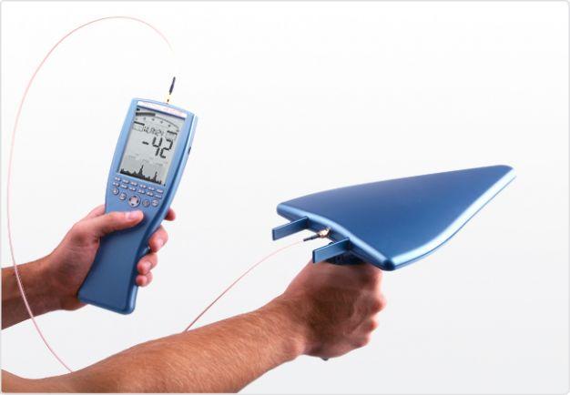 Analizador de Espectro Portátil 10MHz - 8GHz SPECTRAN HF-6080 V4, Aaronia