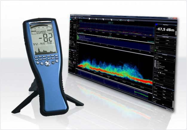 Spectran HF-60100 V4 Handheld Spectrum Analyzer 1MHz - 9,4GHz, Aaronia