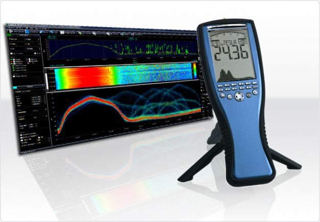 EMC/EMI Analizador de espectro 1Hz-1MHz/20MHz/30MHz con sensor E&H SPECTRAN NF-5030, Aaronia