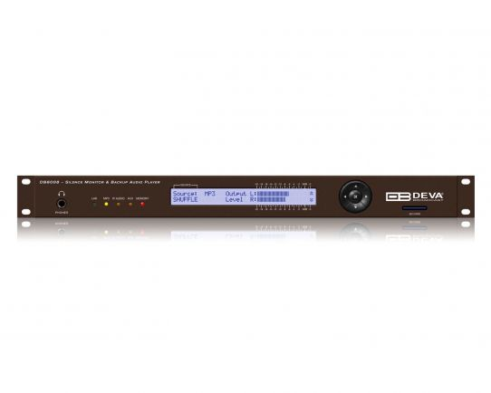 DEVA DB8008 Silence Monitor with MP3 and IP Audio Backup Players