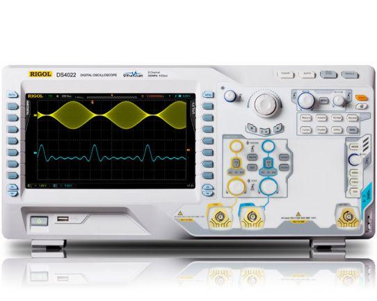 DS4022 Цифров Осцилоскоп 200MHz, 4GSa/s, Rigol
